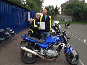 motorcycle test training